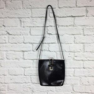 KENZO Paris Black Drop Shoulder Bag Asian Hardware